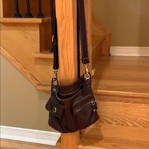 Roots crossbody purse